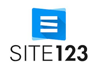 site123 como hacer blog