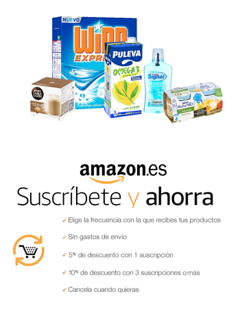 amazon subscribete ahorra