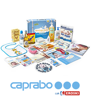Caprabo Canastilla gratis bebes