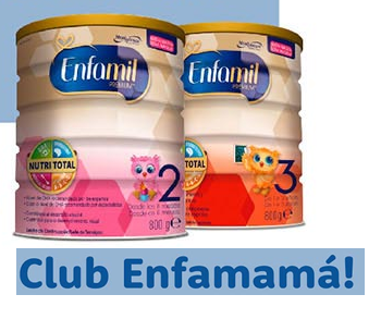 Club Enfamama Regalo de bienvenida