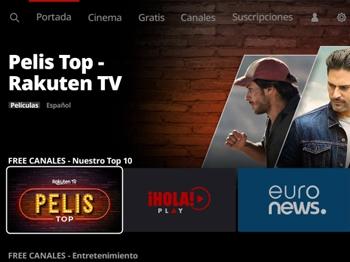 rakuten tv españa gratis